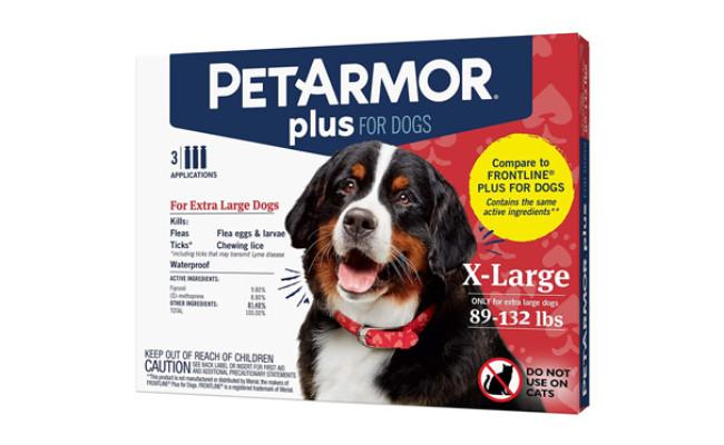 PetArmor Plus Flea and Tick Prevention for Dogs