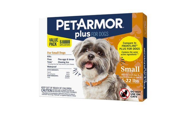 PetArmor Plus for Dogs Flea and Tick Prevention for Dogs