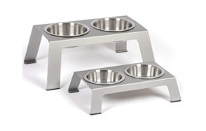 PetFusion Elevated Cat Water Bowls