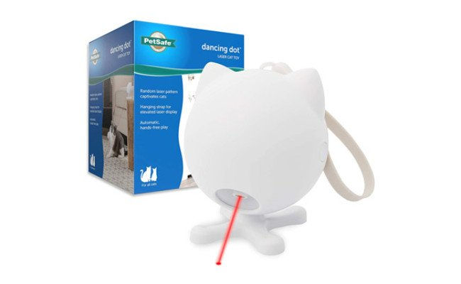PetSafe Dancing Dot Interactive Cat Laser Toy
