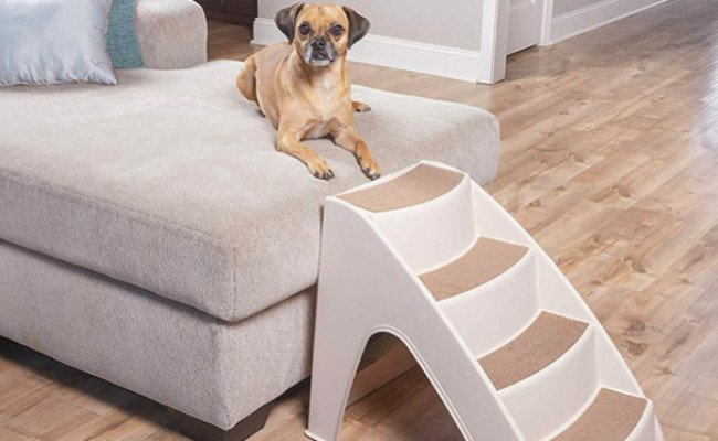 PetSafe Solvit PupSTEP Dog Stairs for Bed