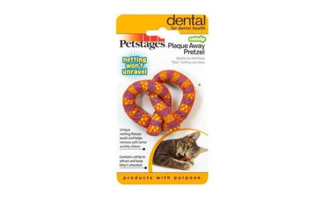 Petstages Catnip & Dental Health Cat Toy