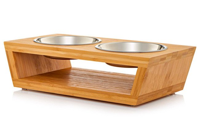 Premium Elevated Dog and Cat Food Bowl