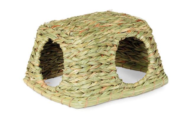 Prevue Hendryx Hideaway Grass Rabbit Toy