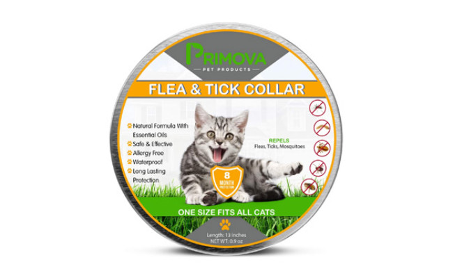 Primova Pet Products Flea and Tick Collar for Cats