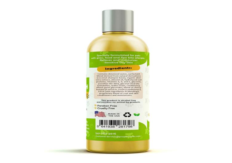 Pro Pet Works All Natural Oatmeal Dog Shampoo 3