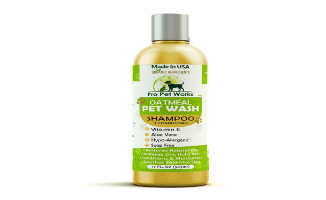 Pro Pet Works All Natural & Organic Shampoo