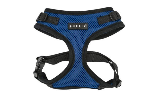 Puppia Authentic RiteFit Harness with Adjustable Neck