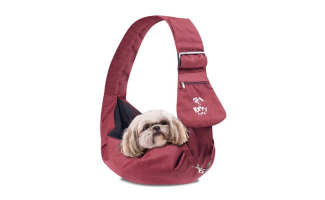 Puppy Eyes Waterproof Dog Carrier Sling