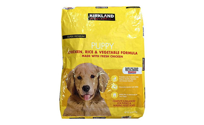 Puppy Formula Chicken, Rice and Vegetable Dog Food