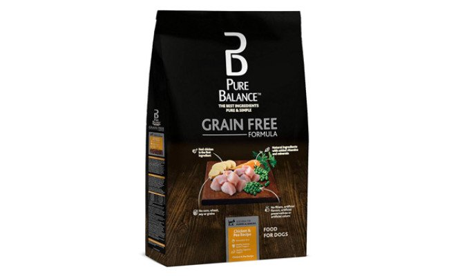 Pure Balance Grain Free Chicken & Pea Dog Food