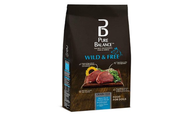 Pure Balance Wild & Free Bison Dog Food
