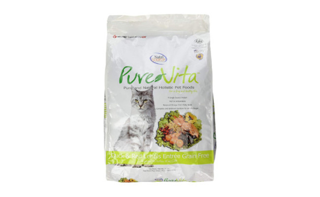 Pure Vita Grain Free Duck Cat Food