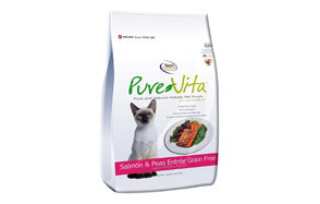Pure Vita Salmon & Peas Cat Food