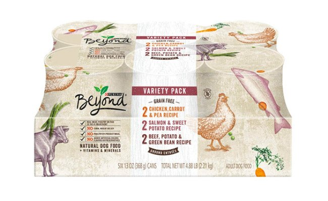 Purina Beyond Natural Grain Free Ground Wet Dog Food