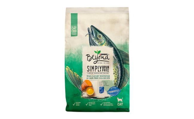 Purina Beyond Simply Grain-Free Wild Caught Whitefish & Egg Recipe Dry Cat Food