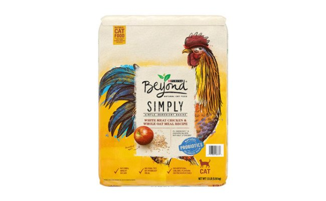 Purina Beyond Simply Natural Adult Dry Cat Food