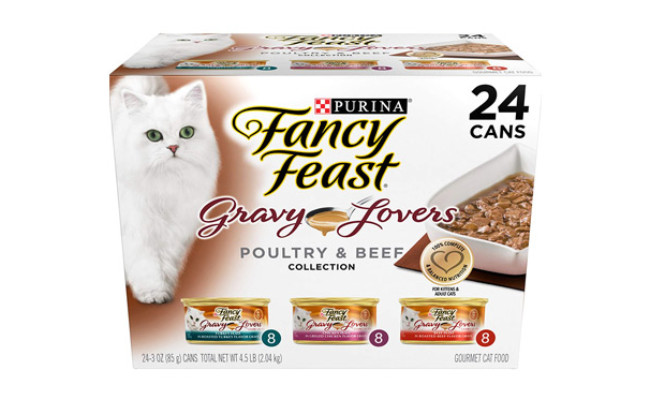 Purina Fancy Feast Beef Wet Cat Food
