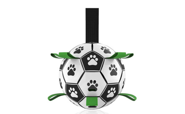 QDAN Soccer Ball with Grab Tabs