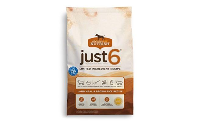Rachael Ray Nutrish Just 6 Dry Dog Food