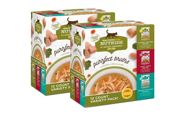 Rachael Ray Nutrish Purrfect Broths Natural Wet Cat Food