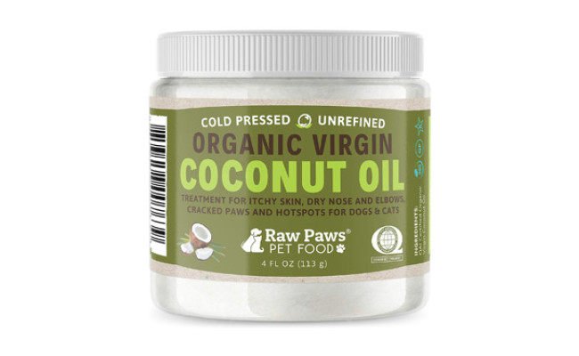 Raw Paws Organic Coconut Oil for Dogs