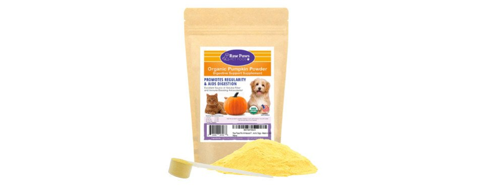 Raw Paws Pet Organic Pure Pumpkin for Cats