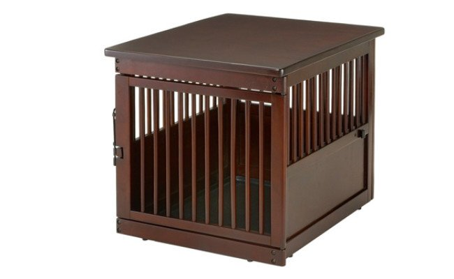 Richell Wooden End-Table Crate