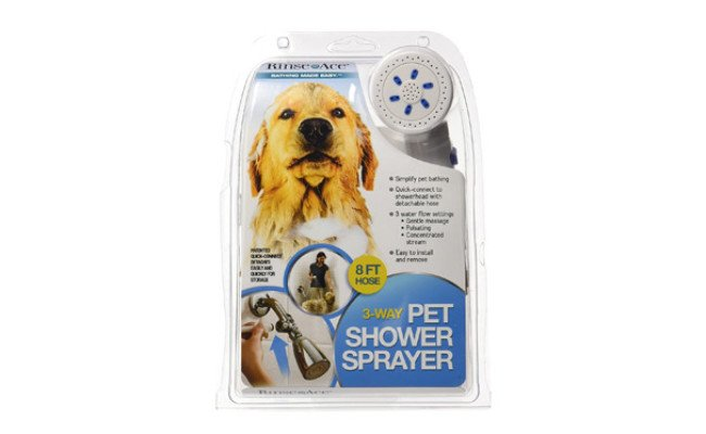 Rinse Ace Dog Shower Sprayer