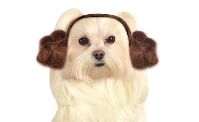 Rubie's Star Wars Dog Princess Leia Headband