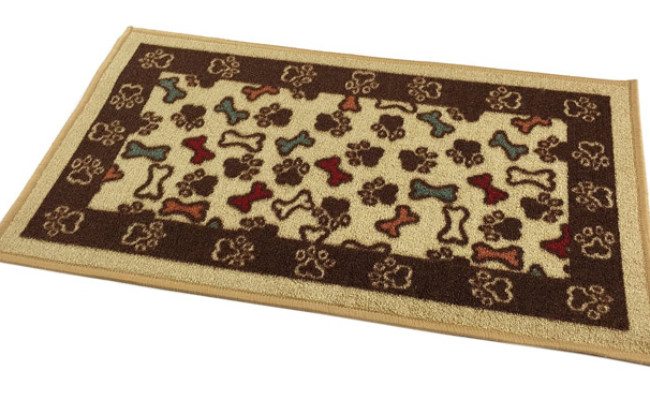 RugStylesOnline Bones and Paws Mat