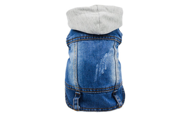 SILD Pet Clothes Dog Jeans Hoddie