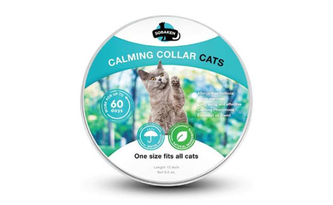 SOBAKEN Calming Collar for Cat