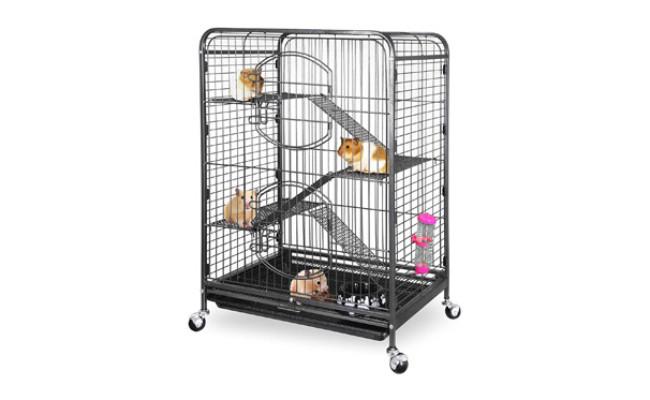 SUPER DEAL 37.2'' Ferret Cage Chinchilla