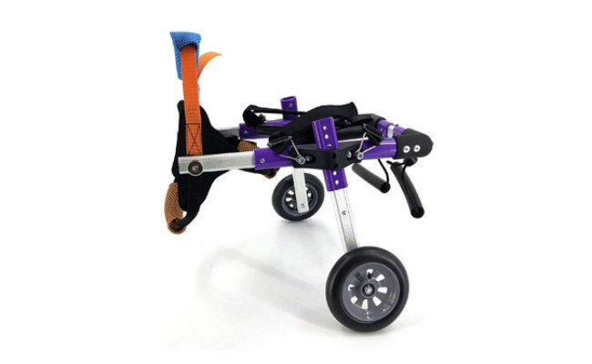 SYLPHID Adjustable Dog Wheelchair for Hind Legs Rehabilitation