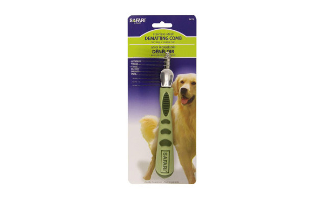 Safari Pet Products Dematting Comb for Dog