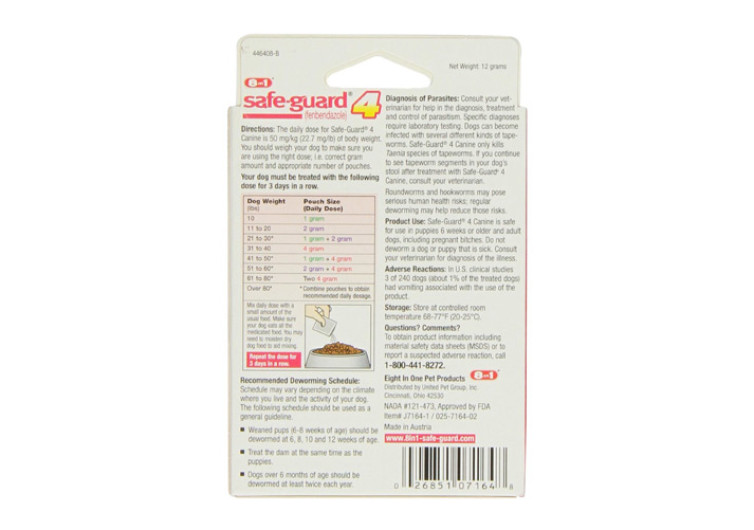 Safe-Guard Dewormer For Dogs Review