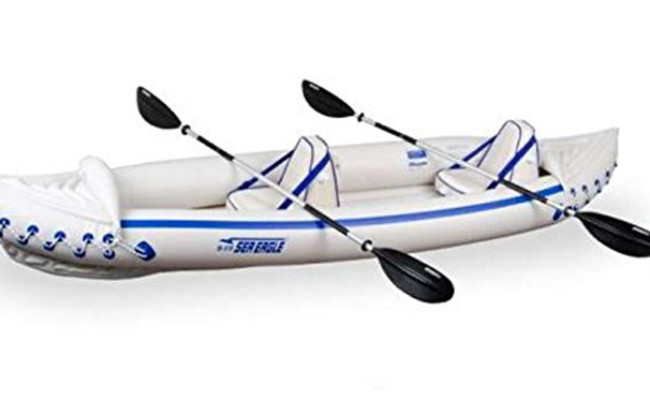Sea Eagle Inflatable Kayak For Dogs