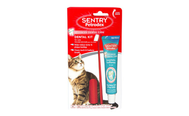 Sentry Petrodex Dental Kit for Cats