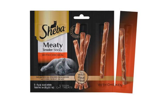 Sheba Meaty Tender Sticks Cat Treats