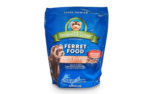 Sheppard and Greene Ferret Food