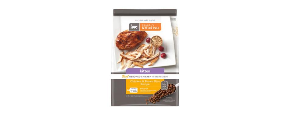 Simply Nourish Chicken & Rice Recipe Cat Food