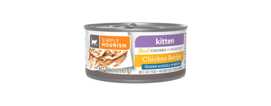 Simply Nourish Essentials Chunks in Gravy Canned Cat Food