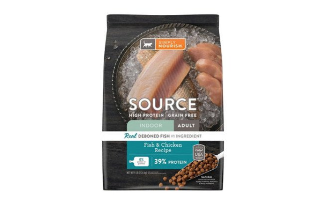 Simply Nourish Source Fish & Chicken Cat Food