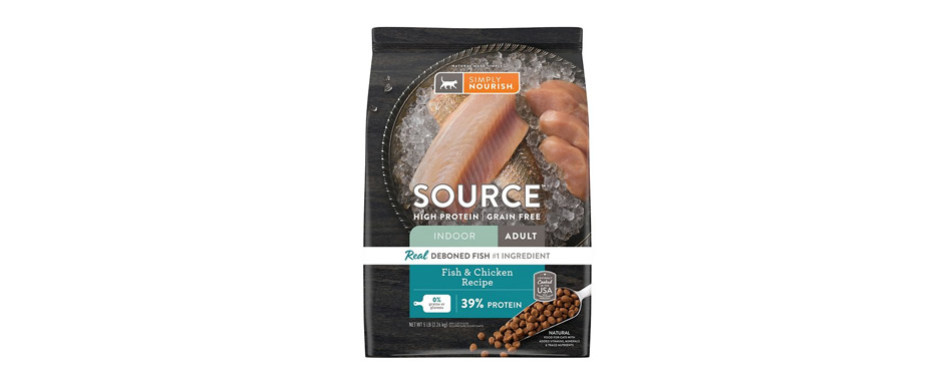 Simply Nourish Source Fish & Chicken Cat Food
