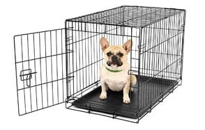 Single Door Metal Dog Crate by Carlson Pet Products