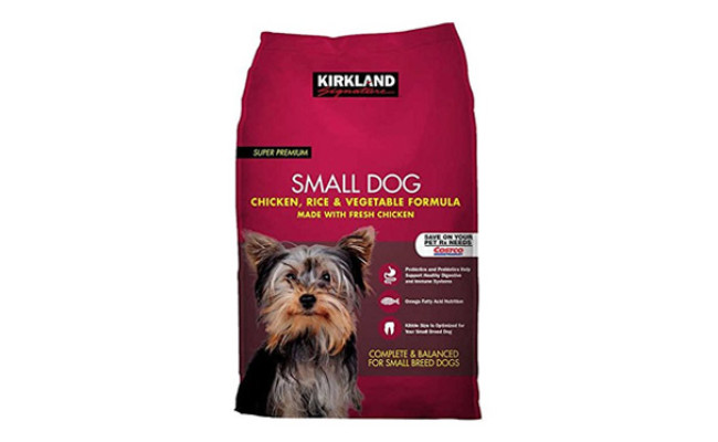 Small Breed Adult Dog Formula Chicken, Rice & Vegetables
