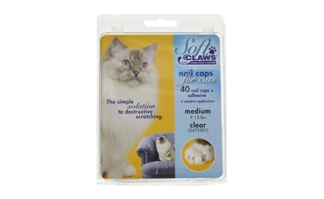 Soft Claws Nail Caps for Cats & Kittens