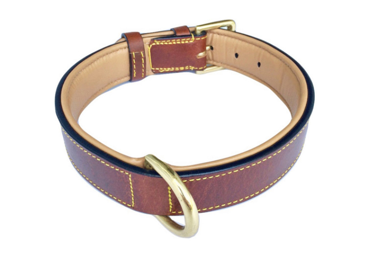 Soft Touch Leather Dog Collar 2