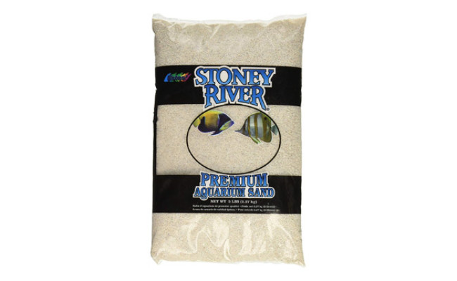 Stoney River White Aquarium Sand